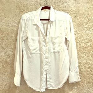 Anthropology Cloth and Stone White Button down.
